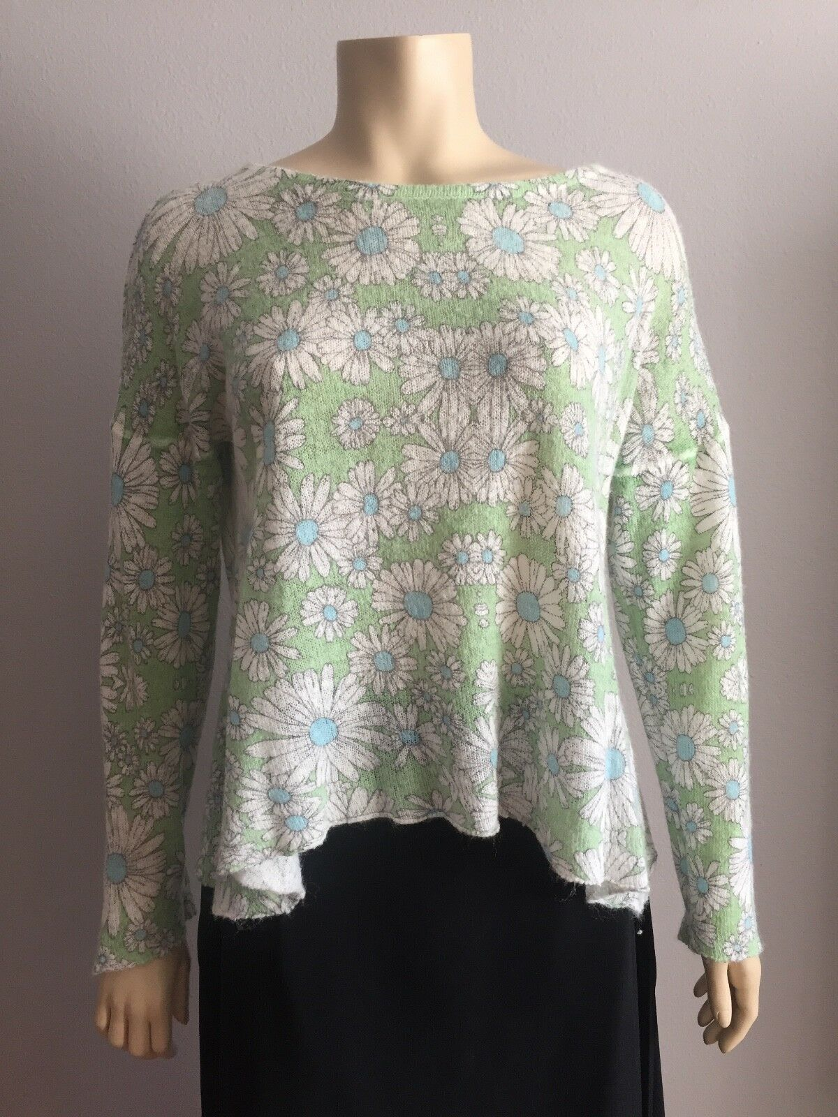 305 WILDFOX white label Daisy Chain Sweater Oversized Slouchy Rare Size S