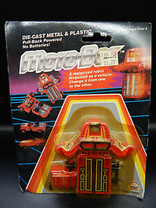 MOC-vintage-MOTO-BOT-Pickup-truck-1984-Intex-Zee-toy-Motobot-robot-gobot-vehicle