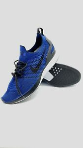 NEW-Nike-Air-Zoom-Mariah-Flyknit-Racer-Blue-Running-Shoes-918264-007-Mens-Sz-9-5