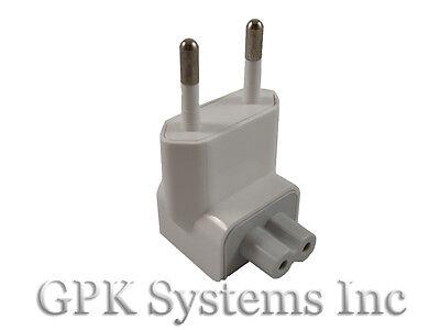 Apple Mac Ac Power Adapter Eu Wall Plug Duckhead Charger