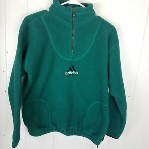 adidas fleece green