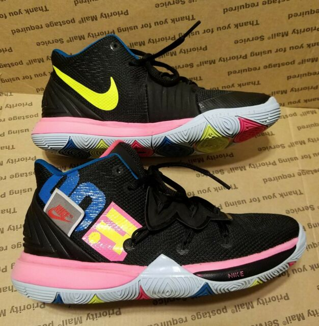 Nike Kyrie 5 Just Do It Boys Girls Kids Youth Sneakers Shoes Size 4Y Rare GUC