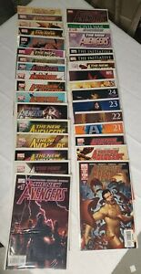 New-Avengers-lot-Marvel-1-30-Annual-1-Civil-War-1-Most-Wanted-Files-Free-S-amp-H