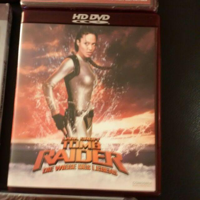 TOMB RAIDER  * HD-DVD * HDDVD * HD DVD * NEW SEALED *