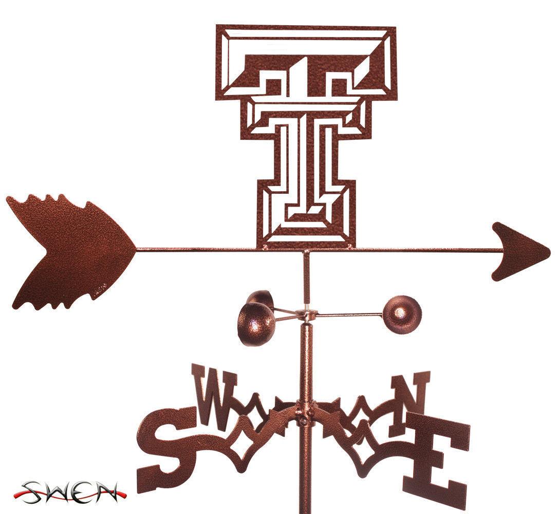 Swen productos Texas Tech rojo Raiders Acero Weathervane