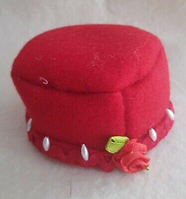 Costruttivo Zauberhafter Cappello Piccolo, Miniatura, Amore Piena Interamente A Mano Per Circa 25 Cm Orsi-mostra Il Titolo Originale