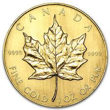 1984 Canada 1 oz Gold Maple Leaf BU - SKU #74654