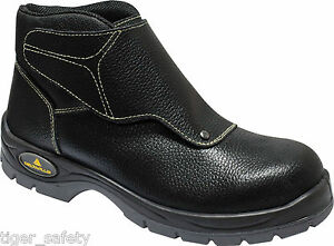 Delta-Plus-Panoply-Cobra-3-S1P-Mens-Black-Leather-Welders-Welding-Safety-Boots