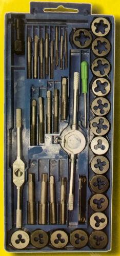 M3-M12 Gewindeschneider Set 40-tlg Fein Gewinde Bohrer Schneider Werkzeug Set