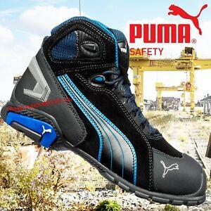 détaillant ae221 0ec7a Details about Puma Rio Industrial Mens S3 SRC Safety Midsole & Toe Cap  Trainers Boots