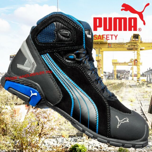 bas prix a37ef 1332f Puma Rio Industrial Mens S3 SRC Safety Midsole & Toe Cap Trainers Boots