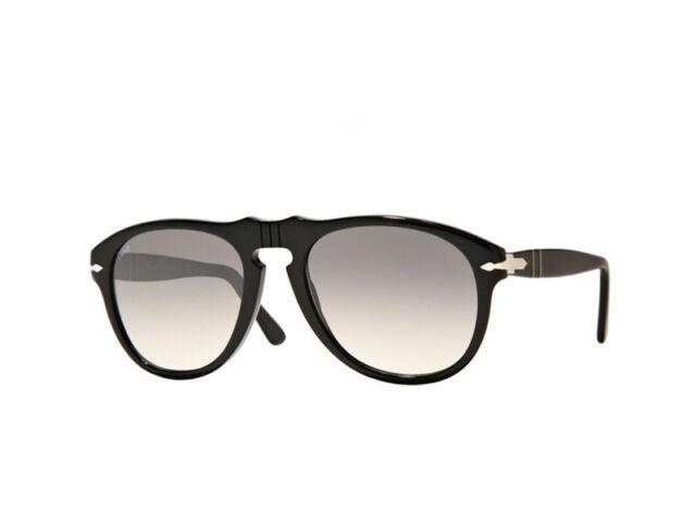 Gafas de sol Persol gafas de sol PO0649 Negro cristal gris sfumato 95/32