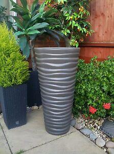 Image Is Loading High Quality Flower Pot Sand Slim Pots New