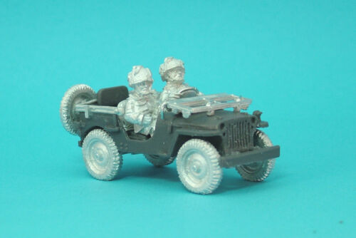 1st Corps 28mm WW2 Helmeted British Airborne Airlanded  Jeep Jeep09 .