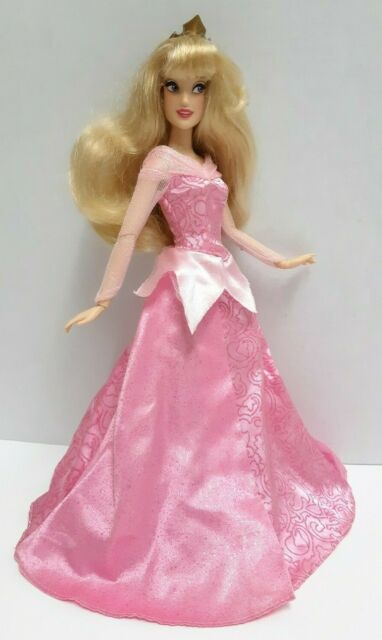 "Disney Parks Princess Sleeping Beauty Aurora Doll 11"""