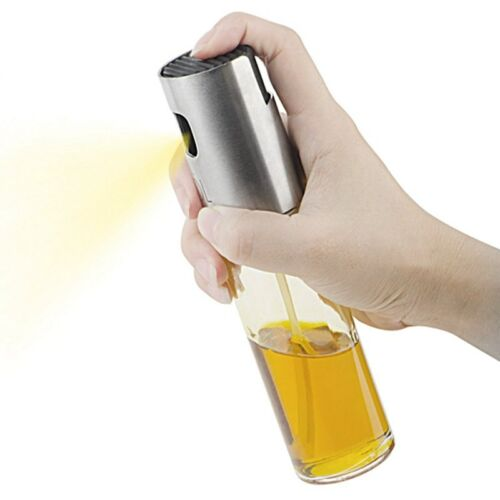 Portable Olive Oil Sprayer Dispenser for Cooking//BBQ//Salad//Stainless Steel W7S8