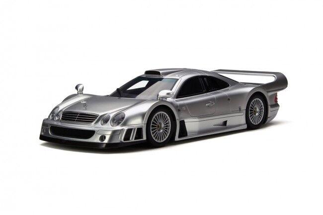 Modelo de coche de resina GT Mercedes-Benz CLK GTR espíritu Coupe (argento) 1 18 + Regalo