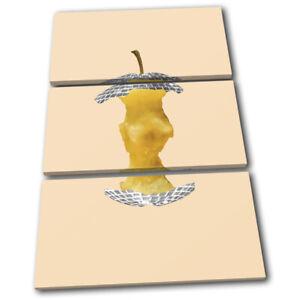 Apple-Disco-Ball-Concept-Food-Kitchen-TREBLE-CANVAS-WALL-ART-Picture-Print