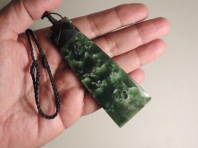 Polynesian Toki Jade Pendant