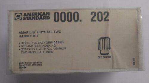 American Standard Amarilis Crystal 2 Handle Kit 0000.202 New