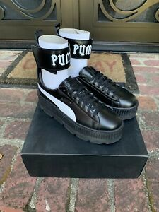 quality design cfd52 19d2c Details about Puma Fenty by Rihanna Ankle Strap Sneakers - Black Men's Size  11
