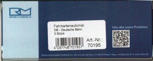 Rietze 70195 expendedora ticket Machine DB 1:87