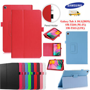 Leather-Tablet-Stand-Flip-Cover-Case-FOR-Samsung-Galaxy-Tab-A-10-1-034-T510-T580