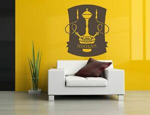 Details About Wall Decal Room Sticker Hookah Bar Old Fashion Smoking Tobacco Flavor Bo2994