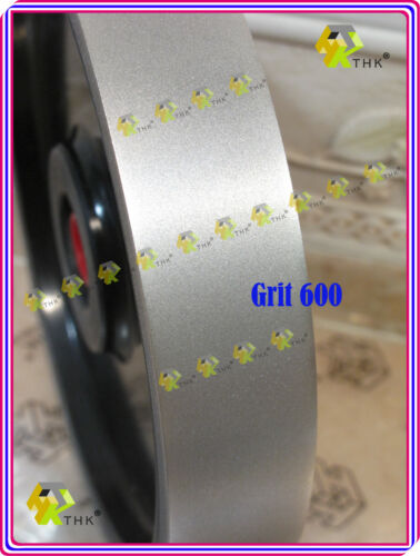 "150mm 6 inch THK Diamond Lapidary Jewelry Grinder wheel 38mm 1.5/"" Width Grit 800"