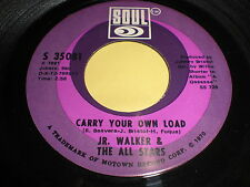 JR. Walker & The All Stars: Carry Your Own Load / Holly Holy 45 - Soul