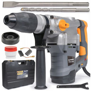 2800W-ELECTRIC-HAMMER-DRILL-18J-230-240-V-HARD-CASE-ACCESSORIES