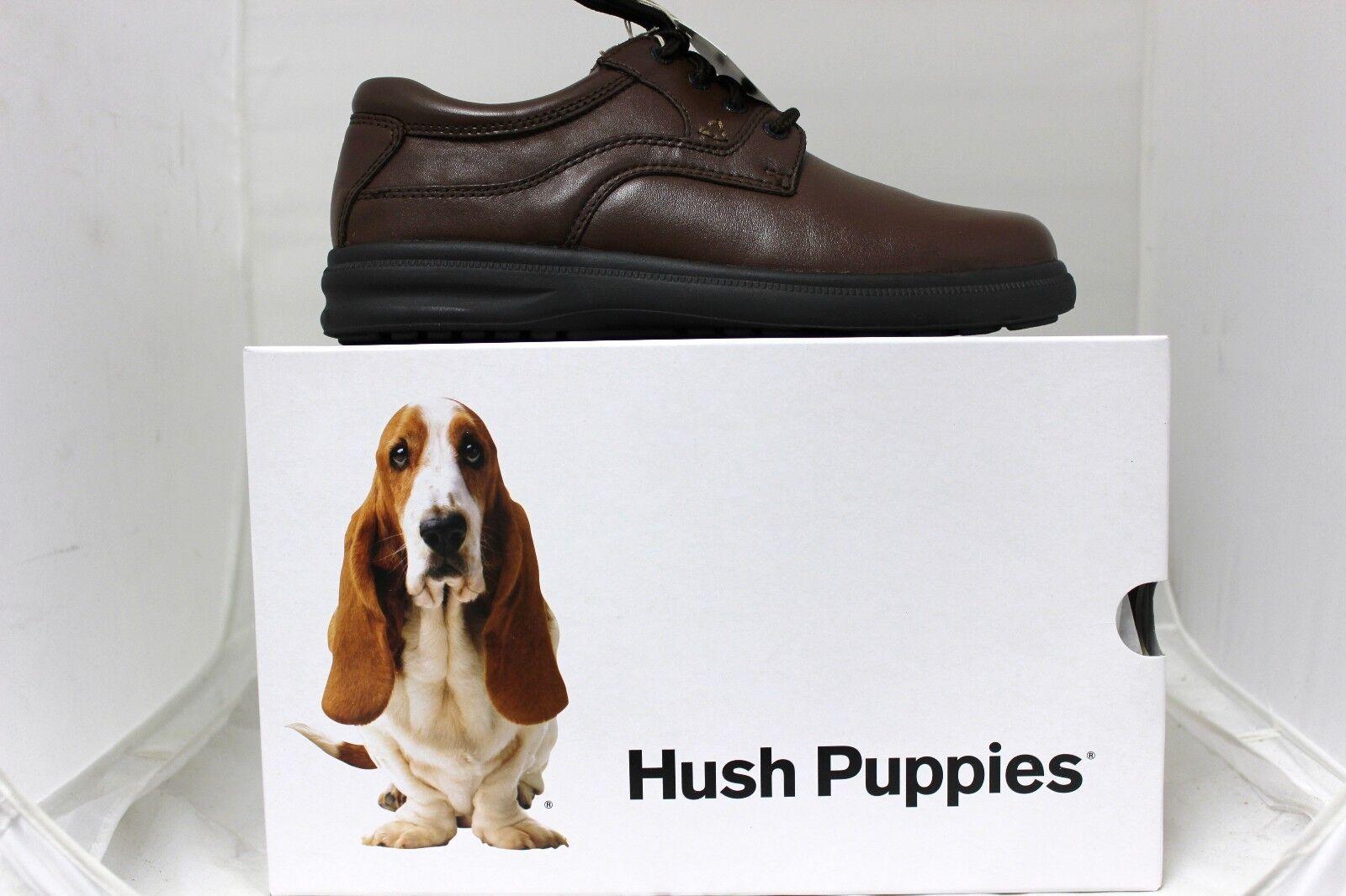Hush Puppies Herren Glen in Hellbraunes Leder H19073 Nagelneu in Glen Karton 6d6d8f