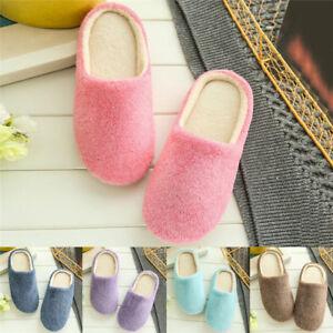 Unisex-Home-Anti-slip-Shoes-Soft-Winter-Warm-Sandal-Indoor-Plush-Slipper-O-vi