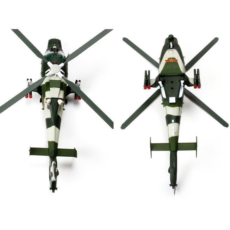 Escala 1 48 Harbin Z-9 helicóptero battleplane Luchador De Metal Colección Kit estático