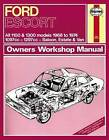 Ford Escort Mk 1 Owner's Workshop Manual by Haynes Publishing Group (Paperback, 2013)