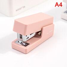 Portable Mini Stapler Set With 640pcs Staples Stationery Office Binding Tool P3