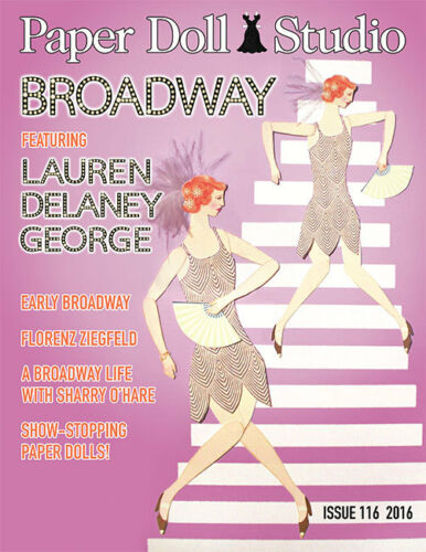 Paper Doll Studio Magazine Issue #116 BROADWAY Theme from 2016