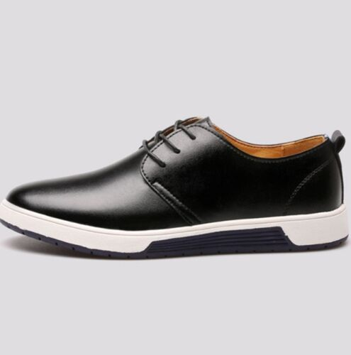 Men/'s Casual Shoes  Summer Mesh Breathable Holes Flat Lace Up Shoes New