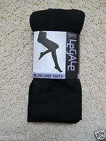 Legale_plush Lined Tights In Black (m/l)