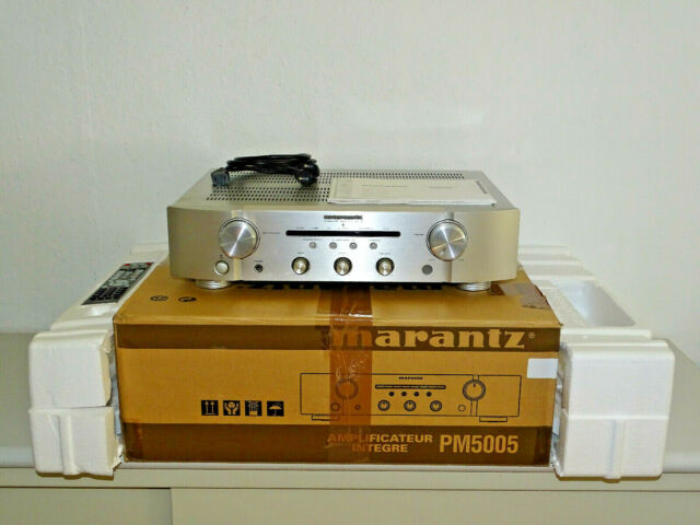Marantz PM5005 High-End Stereo Verstärker Silber in OVP, FB&BDA, 2J. Garantie