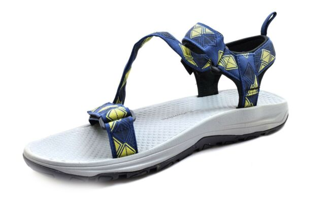 435e0c6d Columbia Wave Train Athletic Water Sandals Blue / Yellow Men's Shoes Size  12 NIB