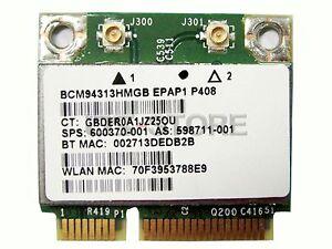 HP Pavilion dv7t-4000 Notebook Broadcom WLAN Driver