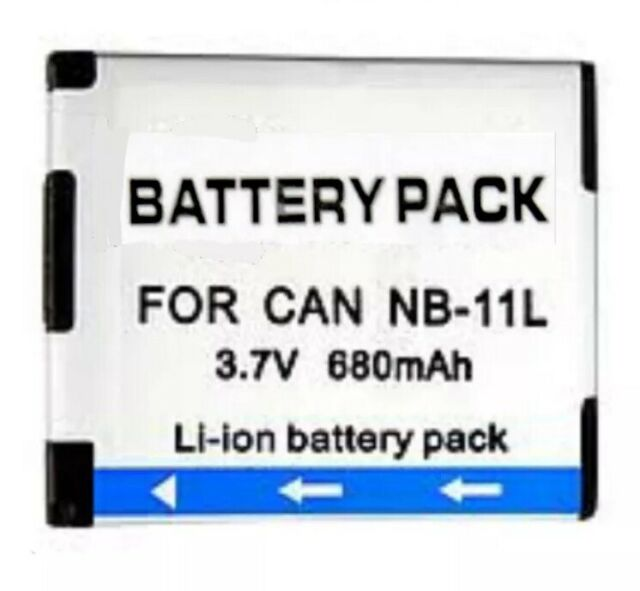 1x NB-11L Battery for Canon PowerShot A2300/A2500/A2400/A3400/A4000 IS AU local
