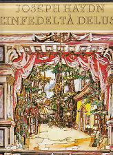 HAYDN-L'INFEDELTA DELUSA 3 LP BOX 1976-LISZT CHAM ORCH-SANDOR con-PASZTHY sop NF