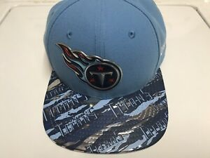 Tennessee-Titans-NFL-New-Era-9FIFTY-Adjustable-Snapback-Hat-Cap-Blue-RARE