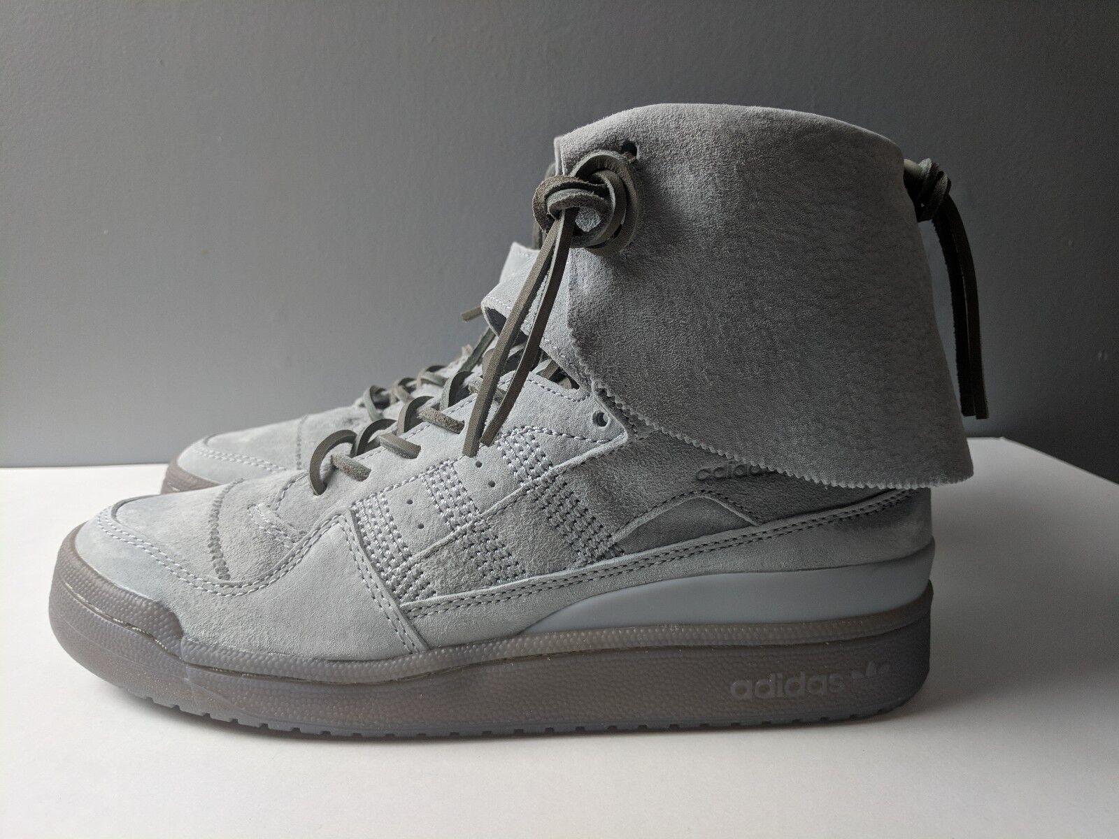 Adidas originals forum hi moc stein clay grauen gummi - größe größe - 9. 8f5827