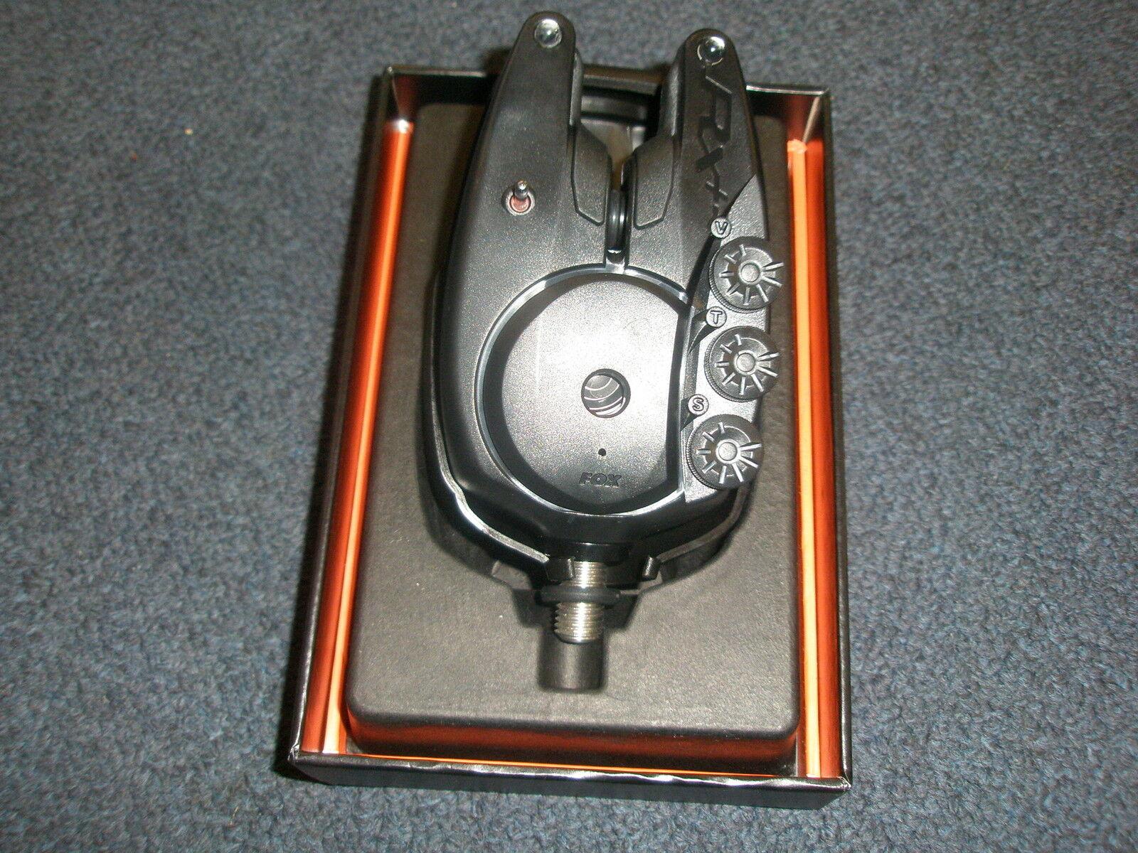 Fox Rx + Einzeln Einzeln + Alarm Karpfenangeln Ausrüstung 70d938