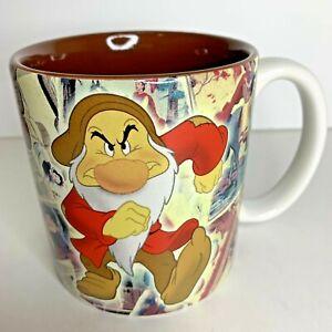 Grumpy-Coffee-Cup-Mug-Disney-Store-Exclusive-World-Snow-White-Dwarfs-New-Retired