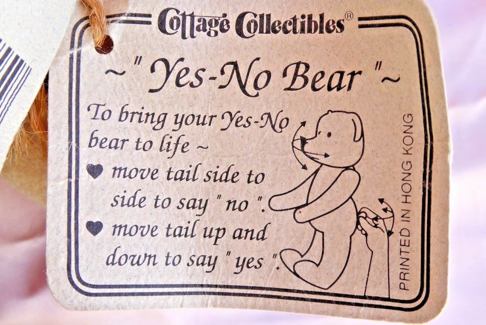 Ganz Cottage Collectibles    Yes - No   Teddy Bear Called  Dixie  9f6925