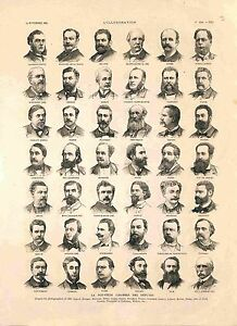 Paris-Deputes-Assemblee-Nationale-Leon-Maurice-Maynard-de-la-Claye-GRAVURE-1885